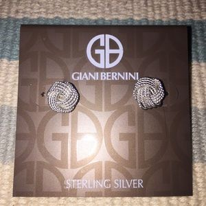Sterling Silver Earring Knots NWT
